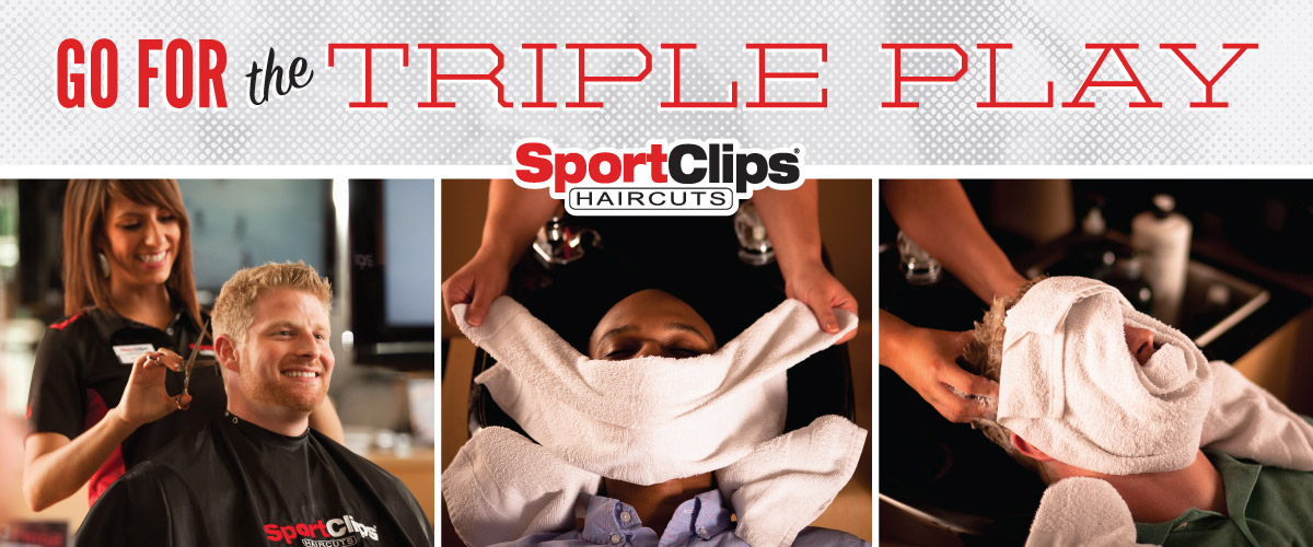 The Sport Clips Haircuts of Glendora Triple Play